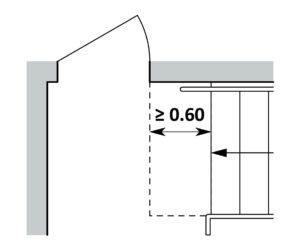 Super Türen, Fenstertüren und Durchgänge in Wohnbauten | Hindernisfreie XP16