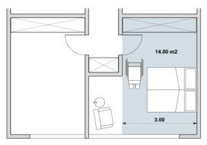 Adaptabilit des espaces int rieurs dans un logement for Surface minimum d une chambre