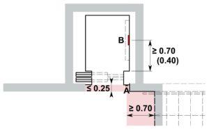 aufz ge in wohnbauten hindernisfreie architektur. Black Bedroom Furniture Sets. Home Design Ideas