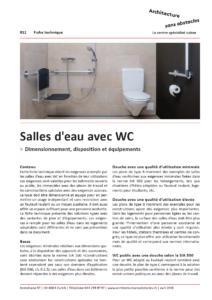 FT 011 Salles de douche avec WC