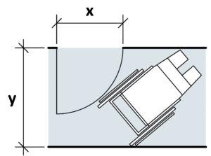 Gut gemocht Türen, Fenstertüren und Durchgänge in Wohnbauten | Hindernisfreie WQ17
