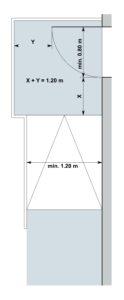 Rampe mit Türe übereck 2