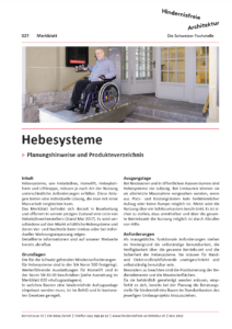 MB 027 Hebesysteme