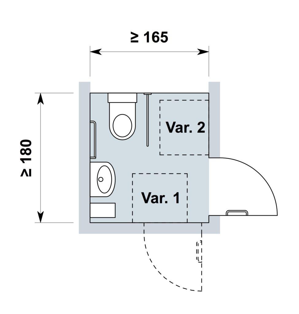 Extremement Equipements dans les toilettes adaptées au fauteuil roulant PO-72
