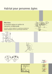 Directives Habitat pour personnes âgées, page de titre