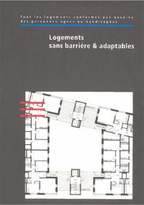 Directives logements sans barrière & adaptables, page de titre