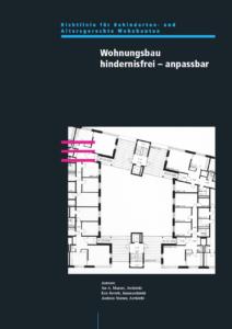 Richtlinie Wohnung, hindernisfrei–anpassbar