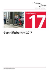 Titelbild Geschäftsbericht 2017